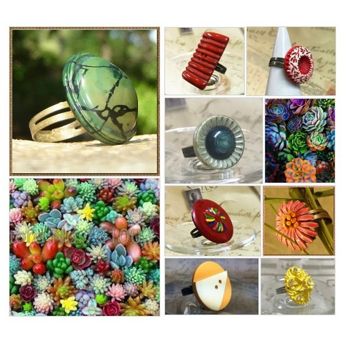 Vintage Button Statement rings by RescuedOfferings Etsy shop #etsyspecialt #integritytt #SpecialTGIF #Specialtoo  #TMTinsta     @SaucyRTs    @DestelloRTs  @YTGRTs @FatalRTs  #StreamShare #etsy #PromoteEtsy #PictureVideo @SharePicVideo