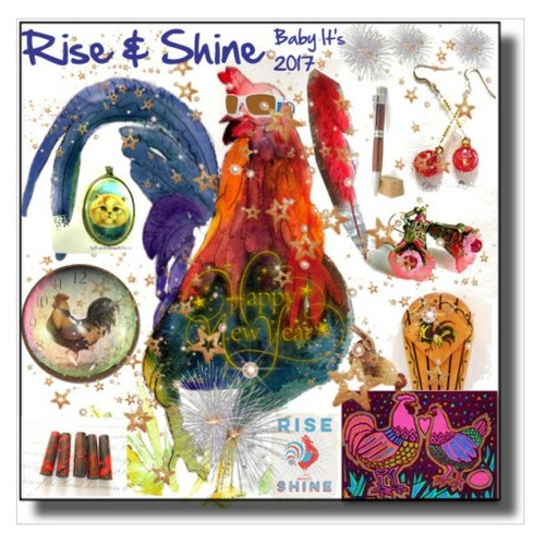 Rise & Shine Baby #integrityTT #TintegrityT #EtsySpecialT #polyvorecontest #artexpression #artcollage #Polyvorestyle #socialselling #PromoteStore #PictureVideo @SharePicVideo