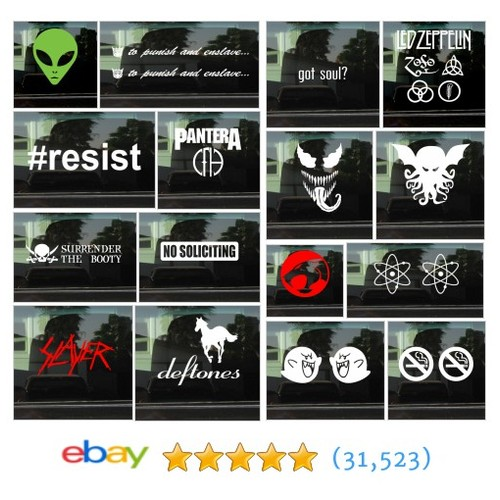 Decals Items in 734designs store #ebay  #ebay #PromoteEbay #PictureVideo @SharePicVideo