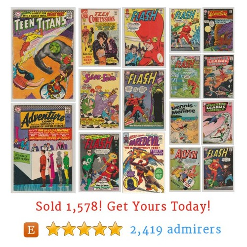 Silver Age Comic Books Etsy shop #silveragecomicbook #etsy @rubbersuitman  #etsy #PromoteEtsy #PictureVideo @SharePicVideo