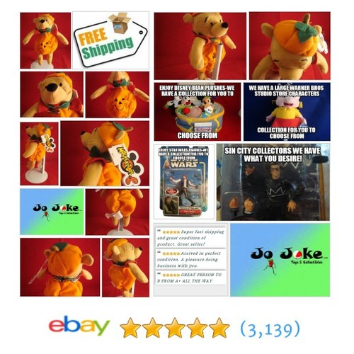 DISNEY STORES EXCLUSIVE-PUMPKIN POOH-MOUSEKETOYS BEAN PLUSH-8 IN-NEW/TAGS-FALL!! | eBay #DisneySTOREEXCLUSIVE #etsy #PromoteEbay #PictureVideo @SharePicVideo
