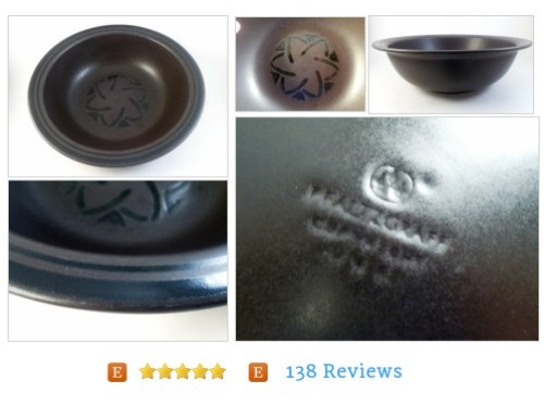 "Large PFALTZGRAFF Serving Bowl 11"" Midnight Sunrise Brown Black #Home #Living #Dining #etsy #PromoteEtsy #PictureVideo @SharePicVideo"