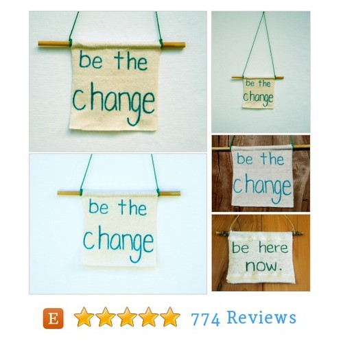 Be The Change - Inspirational Art - #etsy @soulroleeco  #etsy #PromoteEtsy #PictureVideo @SharePicVideo