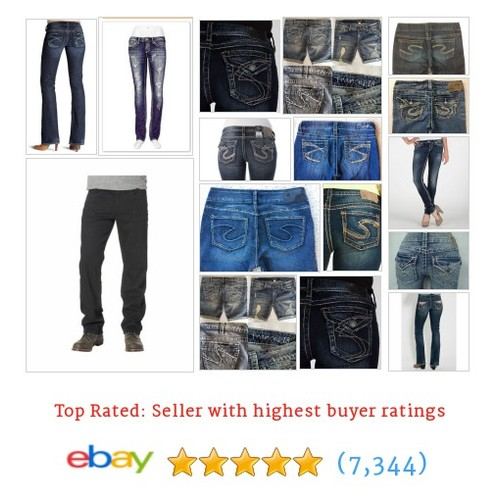 Silver Jeans Items in AJRESALE LLC store #ebay @ajresale  #ebay #PromoteEbay #PictureVideo @SharePicVideo