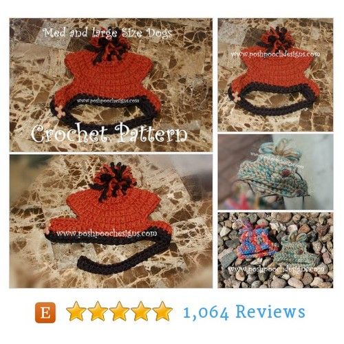 Instant Download - Crochet Pattern- Bulky #etsy @poshpoochdesign  #etsy #PromoteEtsy #PictureVideo @SharePicVideo