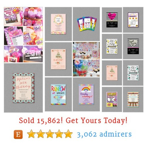 Girl Birthday Party Etsy shop #etsy @coralballoon  #etsy #PromoteEtsy #PictureVideo @SharePicVideo