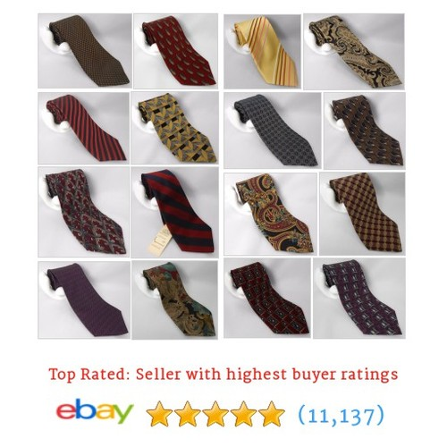 Clothing: Men's Designer Ties Items in Just 2 Spiffy store #ebay @just2spiffy  #ebay #PromoteEbay #PictureVideo @SharePicVideo