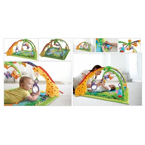 Fisher-Price Rainforest Melodies and Lights Deluxe Gym - Every Thing Baby #socialselling #PromoteStore #PictureVideo @SharePicVideo