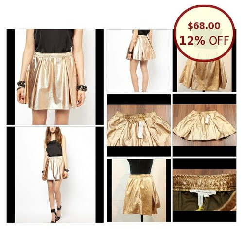 NWT BCBGeneration Metallic Rose Gold Skirt @ventcriboutique https://www.SharePicVideo.com/?ref=PostPicVideoToTwitter-ventcriboutique #socialselling #PromoteStore #PictureVideo @SharePicVideo
