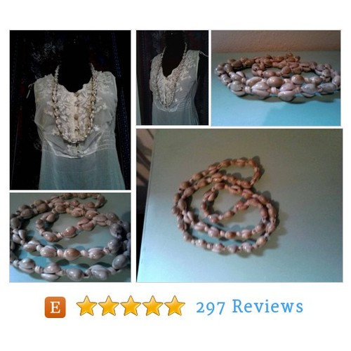 Large Hawaiian Shell Necklace ~ Long #etsy @vintagevixen73  #etsy #PromoteEtsy #PictureVideo @SharePicVideo