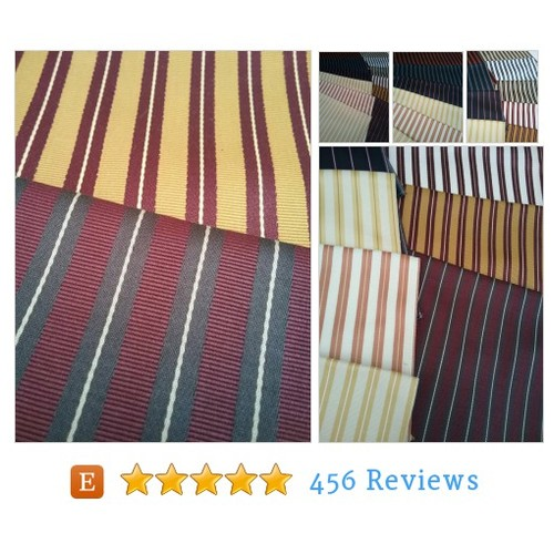 Striped Fabric Jab Anstoetz Fabric Angusto #etsy @fabrics10  #etsy #PromoteEtsy #PictureVideo @SharePicVideo