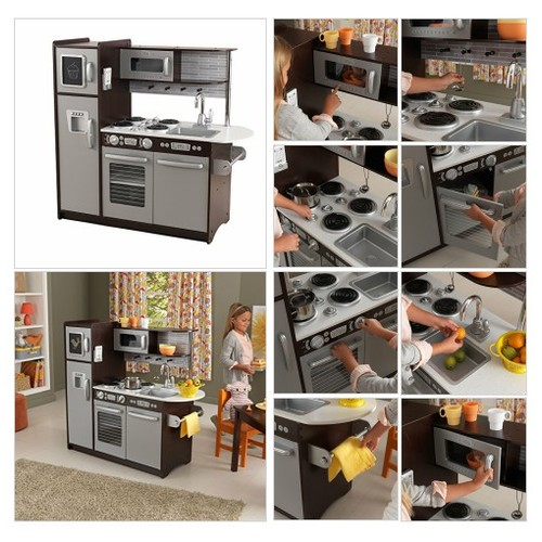 Amazon.com:# KidKraft #Uptown #Espresso #Kitchen: #Toys & $Games #socialselling #PromoteStore #PictureVideo @SharePicVideo