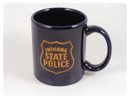 Indiana State Police Blue Coffee #Mug Tea Cup #Cup #Polouse #etsy #PromoteEbay #PictureVideo @SharePicVideo