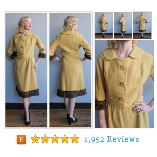1960s Suit // Golden Age Wool & Mink Suit #etsy @dethrosevintage  #etsy #PromoteEtsy #PictureVideo @SharePicVideo