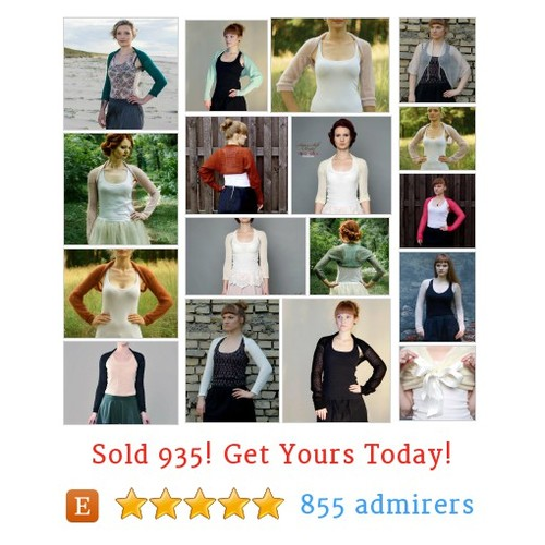 Bridal boleros Etsy shop #etsy @supersoftknits  #etsy #PromoteEtsy #PictureVideo @SharePicVideo