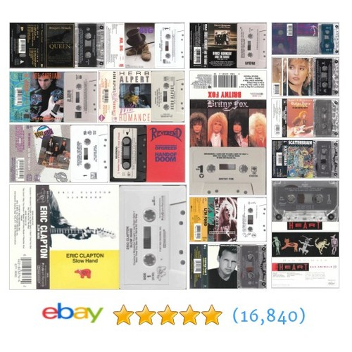 Cassette Tapes Great deals from Cheap Music And More #ebay @the_texan_1969  #ebay #PromoteEbay #PictureVideo @SharePicVideo