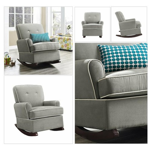 Dorel Asia The Tinsley Nursery Glider Chair, Grey  #socialselling #PromoteStore #PictureVideo @SharePicVideo
