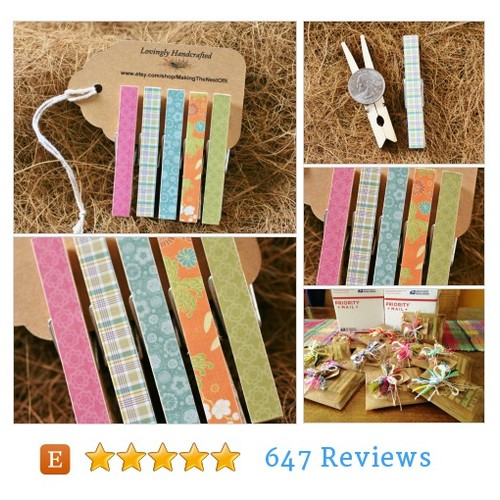 Clothespins, Magnet Clips, Standard Size #etsy @makingthenest  #etsy #PromoteEtsy #PictureVideo @SharePicVideo