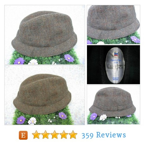 SALE! - Failsworth Trilby - Mens Trilby Hat #etsy @missiemooshop  #etsy #PromoteEtsy #PictureVideo @SharePicVideo