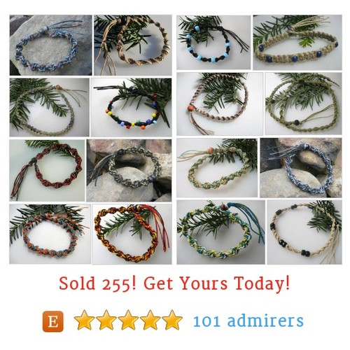 Hemp Jewelry Etsy shop #etsy @craftvenue https://www.SharePicVideo.com/?ref=PostPicVideoToTwitter-craftvenue #etsy #PromoteEtsy #PictureVideo @SharePicVideo
