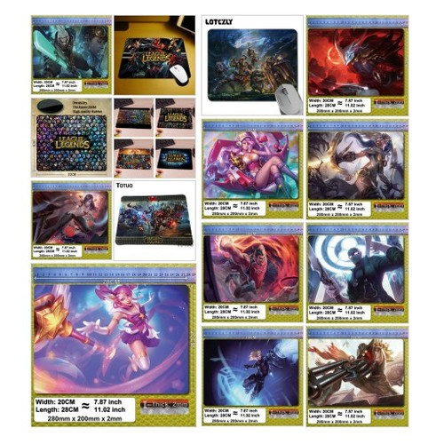 League of Legends One Stop Shop - Mouse Pads product category @threshgod1  #shopify #PromoteStore #PictureVideo @SharePicVideo