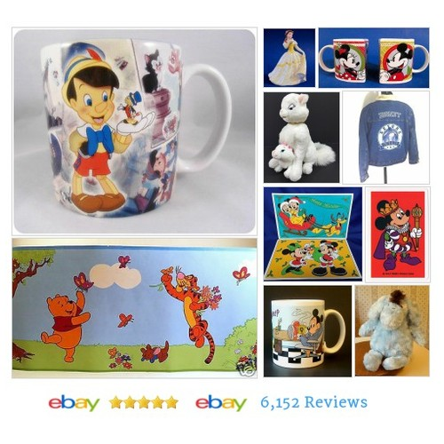 DISNEY COLLECTIBLES for sale at a GREAT price! FAST SHIPPING! #ebay #PromoteEbay #PictureVideo @SharePicVideo