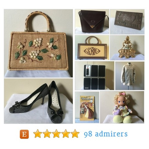 Variety of fine vintage items by FlynnsVarietyShop Etsy shop @MsEbayingFlynn #etsy #PromoteEtsy #PictureVideo @SharePicVideo