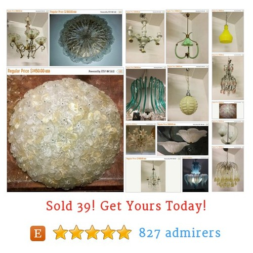 Luxury Murano lighting Etsy shop #etsy @englishsisters https://www.SharePicVideo.com/?ref=PostPicVideoToTwitter-englishsisters #etsy #PromoteEtsy #PictureVideo @SharePicVideo