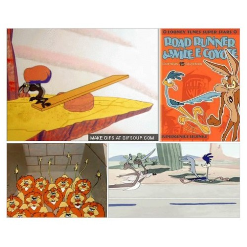 Pinterest WILE E COYOTE-THE ACME PRODUCT EXPLORER WHO GETS THE SHORT END OF THE STICK #socialselling #PromoteStore #PictureVideo @SharePicVideo