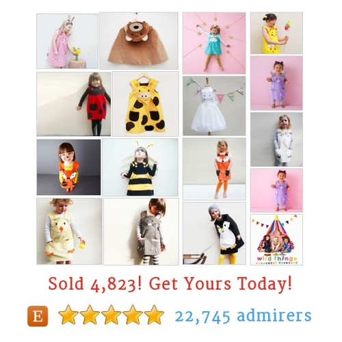 animal play dresses Etsy shop #etsy @wildthingsdress  #etsy #PromoteEtsy #PictureVideo @SharePicVideo