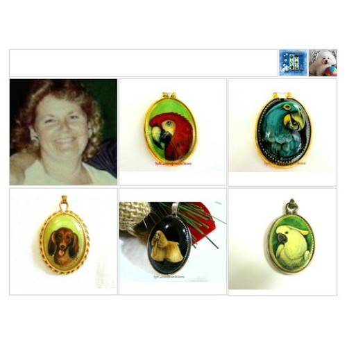 Amazing Hand Painted Cameos #IntegrityTT #TIntegrityT #Etsyspcialt #etsyteamunity #giftideas #Polyvorestyle  #socialselling #PromoteStore #PictureVideo @SharePicVideo