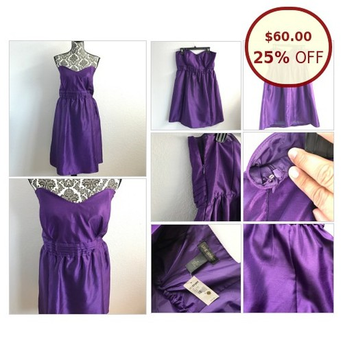 Lane Bryant purple strapless dress @xochicboutiques https://www.SharePicVideo.com/?ref=PostPicVideoToTwitter-xochicboutiques #socialselling #PromoteStore #PictureVideo @SharePicVideo