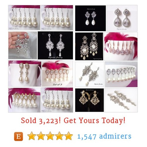 Wedding EARRINGS Etsy shop #etsy @nefertitijewels https://www.SharePicVideo.com/?ref=PostPicVideoToTwitter-nefertitijewels #etsy #PromoteEtsy #PictureVideo @SharePicVideo