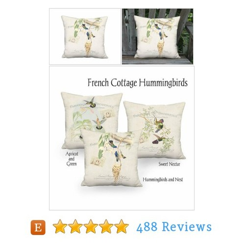 Small Pillow - Hummingbirds and Nest Pillow #etsy @artanlei  #etsy #PromoteEtsy #PictureVideo @SharePicVideo