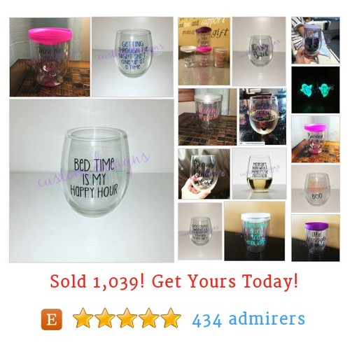 Wine Glasses & Tumblers Etsy shop #etsy @customjmcdesign https://www.SharePicVideo.com/?ref=PostPicVideoToTwitter-customjmcdesign #etsy #PromoteEtsy #PictureVideo @SharePicVideo