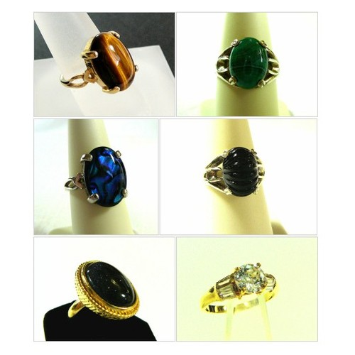 Vintage Rings by SylCameoJewelsStore Etsy #integritytt #etsyspecialt #promoting #marketing #etsy #PromoteEtsy #PictureVideo @SharePicVideo