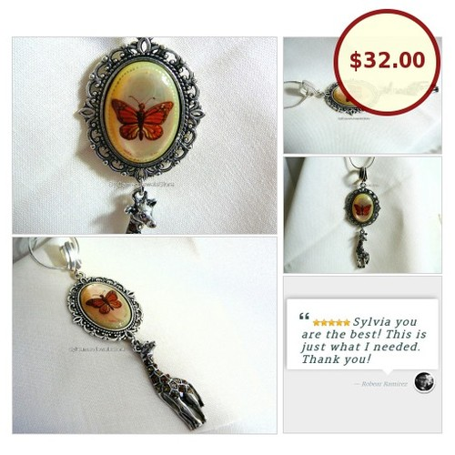 #HandPaintedCameo #ButterflyPendant #Necklace #GiraffeCharm #SylCameoJewelsStore #Jewelry #CameoNecklace #EtsySpecialT #integritytt #Specialtoo #SpecialTParty @DNRBOT @Wild_RTs  #etsy #PromoteEtsy #PictureVideo @SharePicVideo