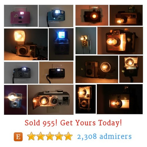 Camera Nightlights Etsy shop #cameranightlight #etsy @lightandtimeart  #etsy #PromoteEtsy #PictureVideo @SharePicVideo