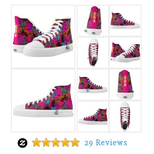 She's A Mess Monogram Paint Splatter Zip Shoes #socialselling #PromoteStore #PictureVideo @SharePicVideo