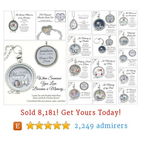 Memorial Locket Sets Etsy shop #memoriallocketset #etsy @charms4locket  #etsy #PromoteEtsy #PictureVideo @SharePicVideo