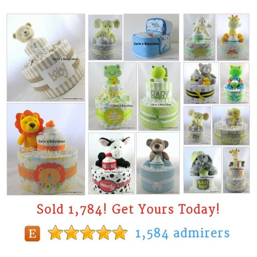 Baby Diaper Cakes Etsy shop #babydiapercake #etsy @mysoulspeace  #etsy #PromoteEtsy #PictureVideo @SharePicVideo