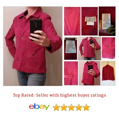 Company Collection Red Mauve Jacquard #Jacket Blazer Size S Spring Fun Summer | eBay #Coat #classic #etsy #PromoteEbay #PictureVideo @SharePicVideo
