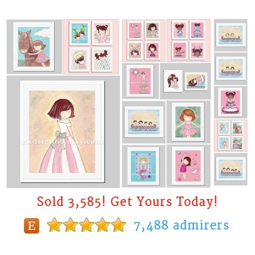 NURSERY ART GIRLS Etsy shop #etsy @rkdsign88  #etsy #PromoteEtsy #PictureVideo @SharePicVideo