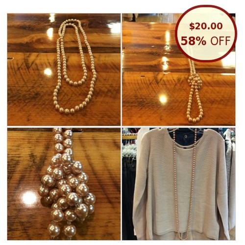 Precious pearl necklace @suefladeboe https://www.SharePicVideo.com/?ref=PostPicVideoToTwitter-suefladeboe #socialselling #PromoteStore #PictureVideo @SharePicVideo