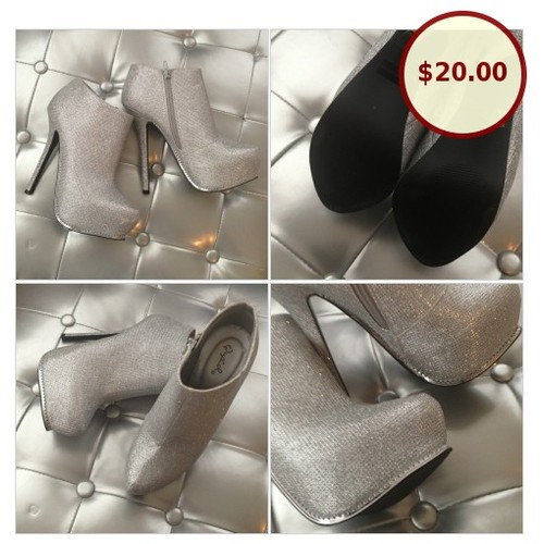 NWOB Silver platform stiletto booties @alavogue313 https://www.SharePicVideo.com/?ref=PostPicVideoToTwitter-alavogue313 #socialselling #PromoteStore #PictureVideo @SharePicVideo