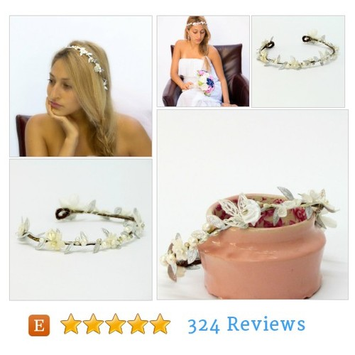 Boho #wedding headpiece bridal tiara silver bridal halo headpiece bridal leaf tiara boho bridal headband silver leaf crown bridal leaf crowns #accessory #hairaccessory #etsy #PromoteEtsy #PictureVideo @SharePicVideo