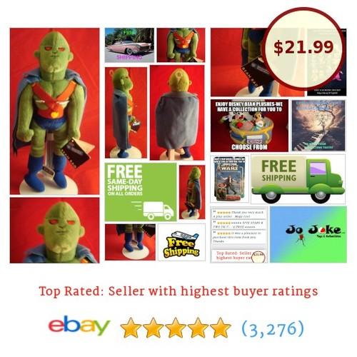 WARNER BROS STUDIO STORE-MARTIAN HUNTER-10 INCH-CAPE-NEW/TAGS-1999-RETIRED-RARE | eBay #WARNERBROSSTUDIOSTORE #etsy #PromoteEbay #PictureVideo @SharePicVideo