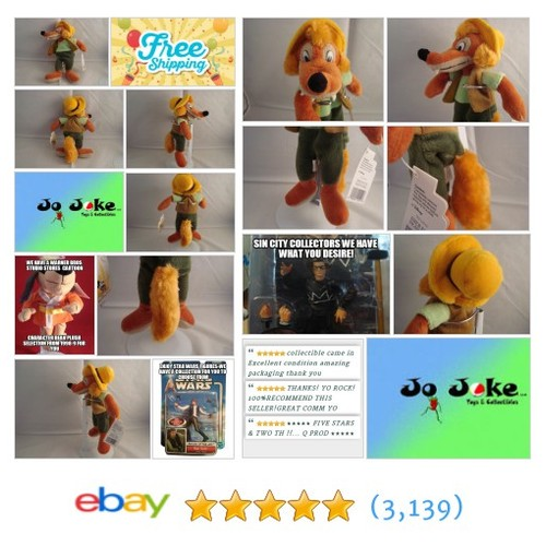 DISNEY STORE EXCLUSIVE BRER FOX BEAN PLUSH-SONG OF THE SOUTH-NEW/TAGS-RARE FIND! | eBay #DISNEYSTOREEXCLUSIVE #etsy #PromoteEbay #PictureVideo @SharePicVideo