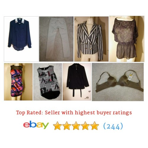 Women's Clothing Galore Items in ClothingGalore Nmore store #ebay @rachelresells  #ebay #PromoteEbay #PictureVideo @SharePicVideo