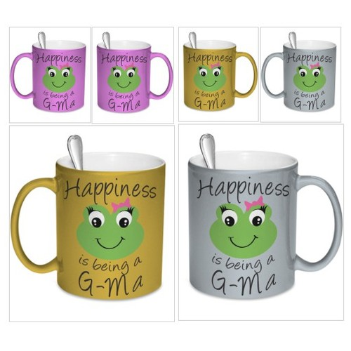 Happiness is being a G-Ma Mug Metallic @cali_kays #socialselling #PromoteStore #PictureVideo @SharePicVideo
